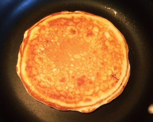 A single pancake